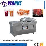 Machine à emballer automatique de vide de chambre de double de poissons de nouilles