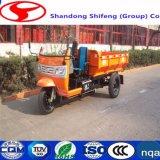 Gruben-Dreiradtransport/-eingabe/transportieren für 500kg -3tons drei Geschäftemacher-Bergbau-Kipper mit Kabine
