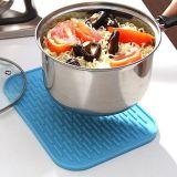Kop Placemat van de Pannelap van de Mat van het Silicone van de Familie van het Gebruik van de keuken de Hittebestendige