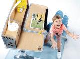 E1 MDFの人間工学的の調節可能な子供の閲覧机E120