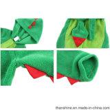 Abito di corallo di Dino del panno morbido lavorato a maglia 100%Polyester dei ragazzi