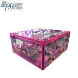 Pink Bonitinha com moedas Grua de brinquedo máquina de garras para Venda da Malásia