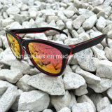Nova vinda grosso UV feitos à mão400 Óculos de marca personalizada