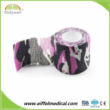 Medical Colored Non Woven Waterproof Cohesive sport bandage