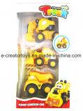Pull-Back Cartoon coche en 3 Mezcla de estilos de vehículo Juguetes