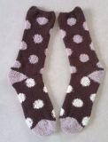 Ткань из микроволокна пушистый сна зимние теплые носки для женщин