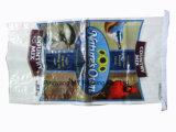 O saco tecido PP do alimento de pássaro de BOPP, PP tecidos laminou o saco de alimentação do animal de estimação