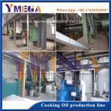 Completar los procedimientos de tipo automático de aceite de cacahuete pulsando planta