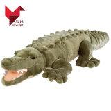 Het groene Stuk speelgoed van de Pluche van de Krokodil Zachte