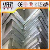 Ângulo de aço inoxidável AISI 304 bar