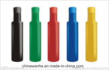 Aplicador semi auto de la escritura de la etiqueta de la botella redonda para las empaquetadoras