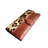 Retro Faux Fur Wallet Bolsa Wzx titulares1416