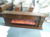 電気暖炉のホーム家具(343SS)を熱する現代居間
