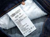 Alta qualità 2017 di Yilong Polyestr/contrassegno di istruzione stampa materiale di nylon del raso/autoadesivo di lavaggio contrassegno di formato per vestiti