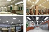 ETL/UL/cUL/Dlc aprobado 125/130lm.W 2X2/1X4/2 X 4M 20W/25W/30W/32W/35W/36W/40W/50W/60W/70W/72W/75W panel LED para el mercado Norteamericano 5/7 años de garantía de instrumentos
