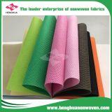 Tessuto variopinto del Non-Woven della fabbrica pp Spunbond della Cina