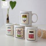Carrocería recta con propias tazas de café de cerámica del diseño 12oz