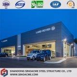 Sinoacme는 강철 프레임 구조 자동차 대리점 상점을 조립식으로 만들었다
