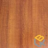 Papel impregnado melamina decorativa del grano de madera de roble para los muebles del fabricante chino
