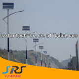 8m 30W-120W solaire avec lampe LED d'éclairage de rue au Kenya