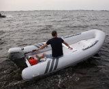 Liya 2.4-5.2m barato barco inflável de costela com o motor