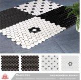 Material de construção de piscina em mosaico cerâmico Tile (VMC48M101, 300x300mm+23X48X6mm/23X23X6)