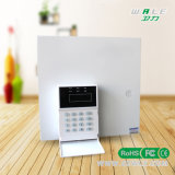 8 sistema de alarma atado con alambre inteligente de las zonas compatibles atadas con alambre y 16 sin hilos