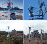 A fábrica! Q4 Tipo 600W 12V/24V/48V do moinho de vento Vertical Marinho/turbina eólica/ gerador de energia eólica