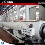 Ligne d'extrusion de pipe du HDPE PPR de vis/machine simples de fabrication