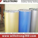 Façade de mur extérieur bobines en aluminium