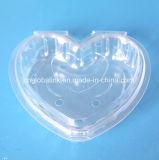 애완 동물 심혼 모양 플라스틱 들쭉 조가비 플라스틱 과일 포장
