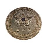 중국 공장 주문 최고 기억 장치 금에 의하여 도금되는 텅스텐 동전