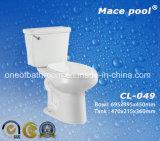 Tolette a due pezzi sanitarie del gabinetto degli articoli della stanza da bagno (CL-049)