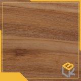 Nueva papel impregnado del grano de la teca melamina decorativa de madera para los muebles, guardarropa del fabricante chino