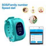 Q50 Aufruf GPS-Verfolger-Uhr der Kind-PAS