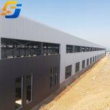 Almacenamiento de prefabricados de estructura de acero derramada almacén desde el proveedor de China