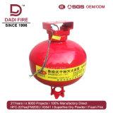 6kg l'équipement de lutte contre les incendies la pendaison de poudre chimique sèche de l'extincteur