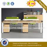 Un design moderne en chêne blanc Table mixte de couleur de bureau en bois (HX-8NR0284)