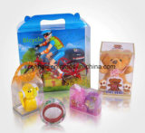 Изготовленный на заказ коробка ясной/прозрачной створки пластичная для коробки подарка волдыря подарка упаковывая упаковывая