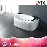 K-8813 de Grootte van de Badkuip van de badkamers, de Sanitaire Badkuip van de Driehoek van Waren met Glas, AcrylBadkuip 1 de Badkuip van de Persoon