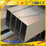 tube/pipe en aluminium d'extrusion anodisés par fournisseur de 6063t5 Chine