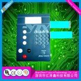 Контролируйте переключатель мембраны клавиатуры верхнего слоя печати цепи кнопочной панели