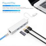 Таможня USB3.1 c к эпицентру деятельности USB 3 USB3.0+Ethernet Port многофункциональному