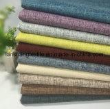 カーテンのソファー袋の靴のための80%Polyester 20%Linenファブリック