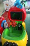 Монетка привелась в действие езду Kiddie спортивной площадки машины игры крытую для Sall