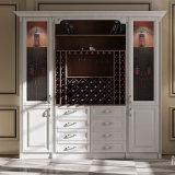 ワインのキャビネットの食堂の家具の食料貯蔵室のキャビネットの食器棚