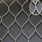 Flexibel x-neig Netwerk van de Kabel van de Kabel het Roestvrij staal Geweven