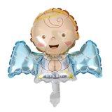 Weinig Ballon van het Aluminium van de Engel voor de Decoratie van de Douche van de Baby van het Huwelijk van de Partij