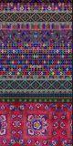 Kleine Blumenform-Silk Schal-Ansammlung