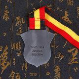 Alliage de zinc métal 2d attribution de souvenirs Sport médaille avec ruban
